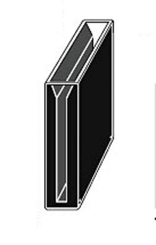 Micro Quartz Cuvette, Black Wall, 40mm Lightpath, 4.2ml, 3mm Slit, Cuvettes,cell