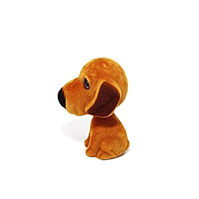 Batty Bargains Fidgety Bobblehead Dacshund Mutt Dog with Auto Dashboard Adhesive: Toys & Games