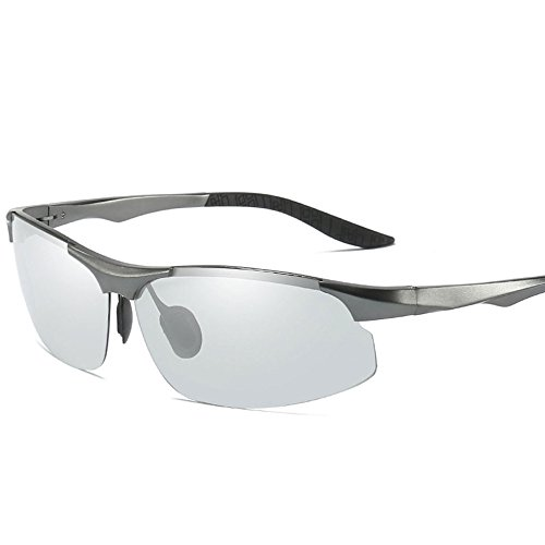 mm Z polarizadas x Silverwhite Blackwhite 150 de amp;X Gafas hombre sol para 132 x 38 rr7BaqIx