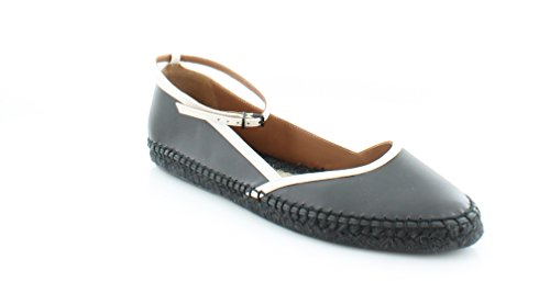 GIORGIO ARMANI X1S010 Women's Flats & Oxfords Nero/Bianco Size 9.5 M (Armani Oxford Women)