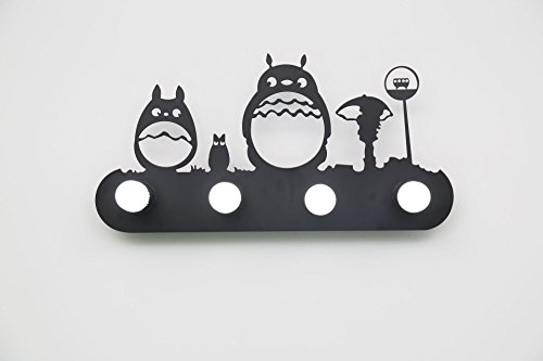 Front mirror light mirror led light led waterproof anti-fog bathroom bathroom mirror wall lamp European-style button cabinet light led light black animal retro ( Style : C ) by YOYO