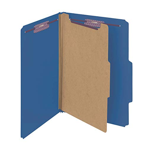 Section Four (Smead Pressboard Classification File Folder with SafeSHIELD Fasteners, 1 Divider, 2