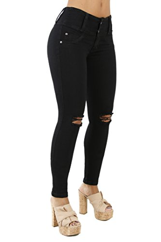 Curvify 765 Premium Women's Enhanced Butt Liftting Skinny Jeans
