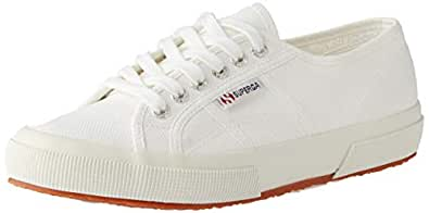 Superga Unisex 2750 Cotu White Classic Sneaker - 36 M EU / 6 B(M) US Women / 4.5 D(M) US Men