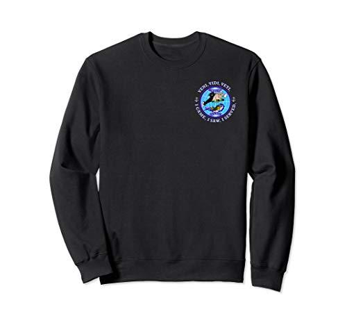 (USS BUFFALO SSN-715 PATCH IMAGE Sweatshirt)