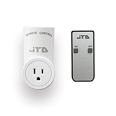 JTD ® Energy Saving Auto-programmable Wireless Remote Control Electrical Outlet Switch Outlet Plug