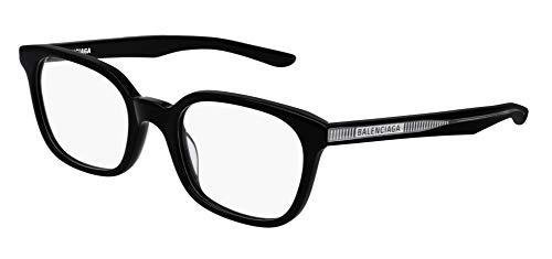 Balenciaga BB0027O Eyeglasses 01 Black-Black 51mm