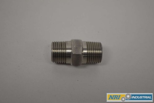 SINGLE BALL STAINLESS 3/8IN NPT CHECK VALVE D335416 ()