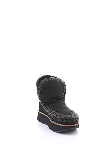 Sneakers Negro Mujer bkbk Mou Runeski18 1ZwWqEWIx