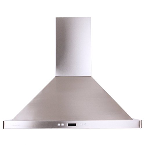 Cavaliere SV218B2-30 Wall Mount Range Hood with 900 CFM in Stainless Steel (Stainless Hood Steel Wall Chimney)