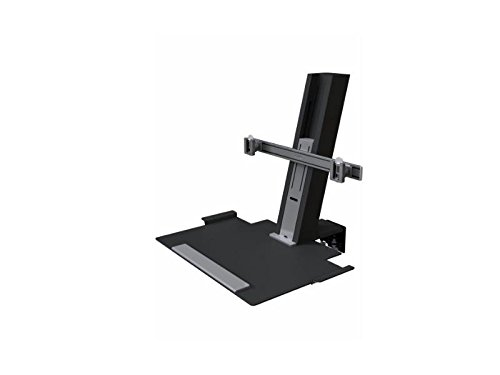 Humanscale QSBC30 Monitorhalterung, Metall, schwarz, 710 x 430 x 58,50 cm
