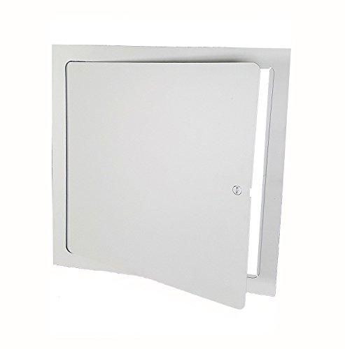 (Premier FL-12 x 12 Flush Access Door, Steel, Powder Coated White)
