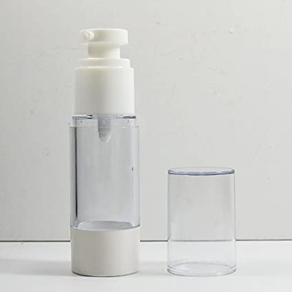 5 x botellas de maquillaje osteoclastia bomba de luz roja para tratamiento de botella de plástico
