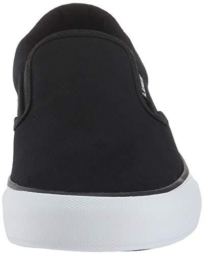 Lugz Women's Clipper Sneaker, Black/White, 8.5 M US