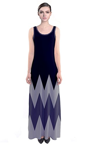 CowCow - Vestido - para mujer azul vaquero