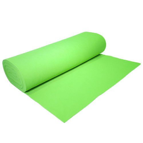 Acrylic Felt by the Yard 72'' Wide X 2 YD Long: Neon Lime by The Felt Store
