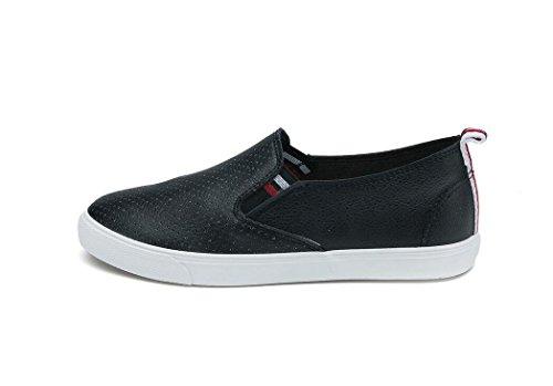 39 Compras Zapatos Señora De Diarias Blanco BLACK 39 Simple Negro Ocio Escuela Aumento XIE Movimiento PU Estudiantes f6wFwBq