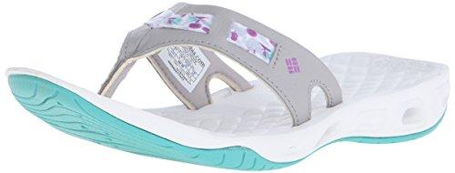 Columbia Women's Sunbreeze Vent Cruz Flip Sandal - Dove/R...