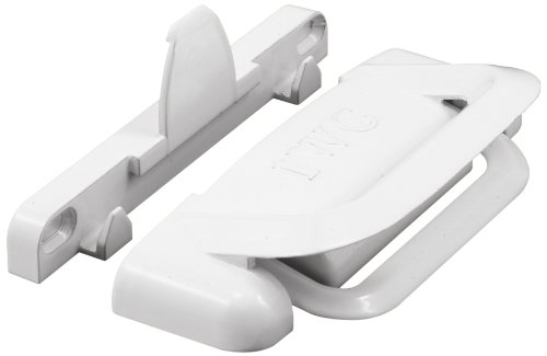 Prime-Line Products F 2686 International Sliding Window Slam Lock, White (Casement Window Sash Lock)