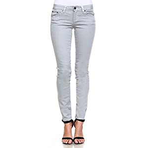 Request Jeans Juniors Pants Skinny Mid-Rise Stretch Metallic Jeans 5-Pocket Style