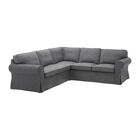 Ikea Cover for 4-seat corner sectional, Nordvalla dark gray 628.8811.66