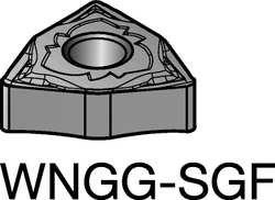 - Sandvik Coromant Carbide Turning Insert, WNGG 431-SGF 1115 - WNGG 431-SGF 1115, (Min. Qty - 10)