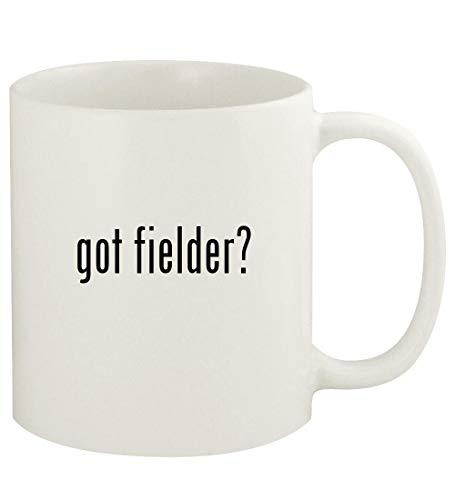 got fielder? - 11oz Ceramic White Coffee Mug Cup, White ()