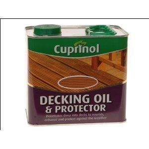 Decking Oil & Protector 2.5lt Natural Oak by Cuprinol (Cuprinol Natural)