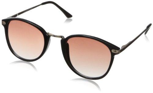 A.J. Morgan Castro Round Sunglasses Black