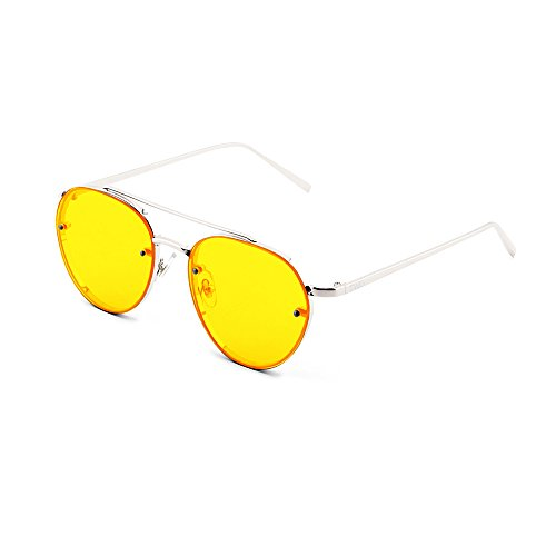 Gafas sol AMIS Plata de aviador Naranja hombre mujer TWIG gradiente HHrOFWZc