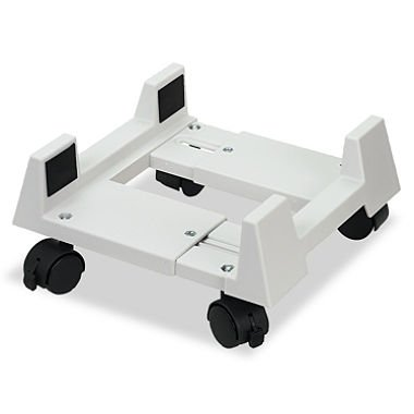 Mobile CPU Stand, 8-3/4w x 10d x 5h, Light Gray, Sold as 2 Each by Innovera