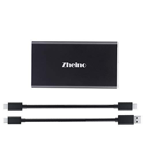 Zheino 512GB Extreme Portable SSD, USB 3.1 Gen 1 Type C OTG External Solid State Drive (P1 512GB)