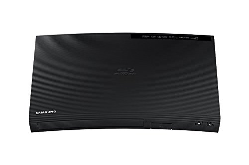 (Samsung BD-J5100 Curved Blu-Ray Disc Player with Remote control, Tmvel HDMI Cable)