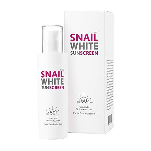 Snail White Sunscreen Cream UVA/UVB SPF 50 + PA+++ Facial Sun Protection Cream Skin Face Whitening 51Ml By Ta Dee Shop