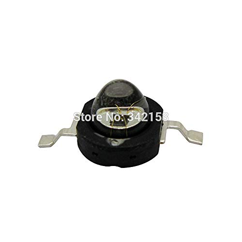 Jammas 60 Degree Viewing Angle 1W Infrared 850NM 1.4-1.7V LED Light Emitter for Lamp/CCTV/Night Version Camara
