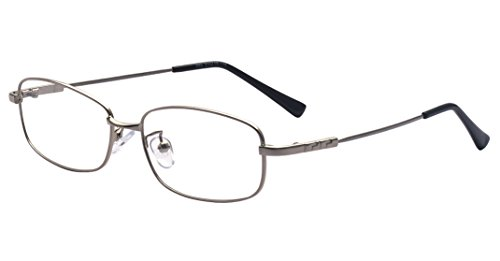 Kelens Women Full Rim Rectangular Metal Eyeglasses Thin Frame For - Frames Glasses Thin
