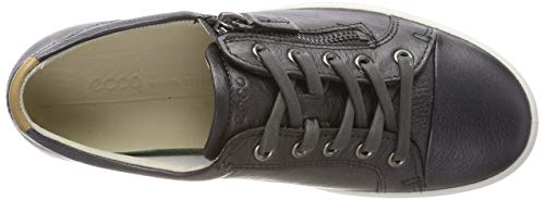 51383 Shadow Ladies Basses black Sneakers Metallic 7 Dark Soft Femme Ecco EqBH8TFvwq