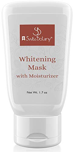 Whiten Skin Cream - Whitening Face Mask for Sensitive Skin / Intimate Areas, Underarms, Butt, Knees, Inner Thights - Super Brite/Pink