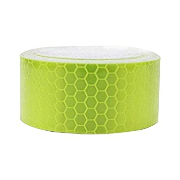 Reflective Tape Waterproof Self-Adhesive For Trucks Trailers Car Park Traffic Warning Caution Conspicuity Tape Tape-Reflective Tape Green 2/″X16.4/′