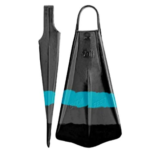 - Voit Duck Feet Fins (Gray/Turquoise, Large)