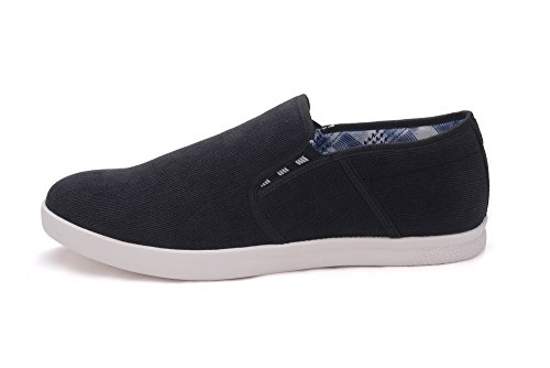 Beverly St Chaussures Mocassins En Tissu Pour Hommes (abbound02) Noir