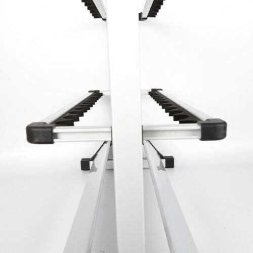 Rutenst/änder Angelruten Rutenhalter Halterung 24 Ruten Aluminium Rutenst/äender