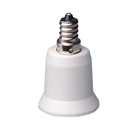 1pc E12–E27Titular de la lámpara Lamp Socket de plástico sin interruptor