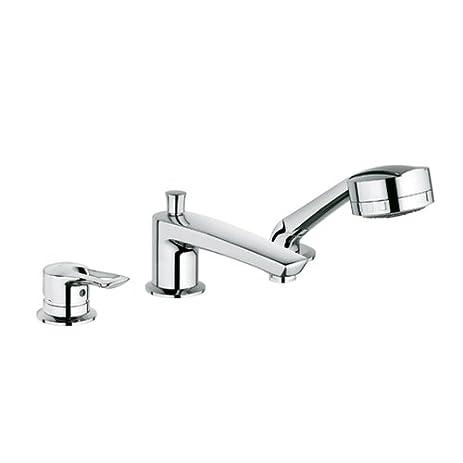 Amazon.com: KLUDI MX Bathtub faucet onehanded mixer retractable hand ...