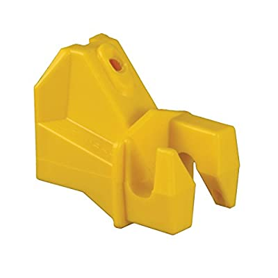 Red Snap'r SF25 Wood Post Insulator, Yellow