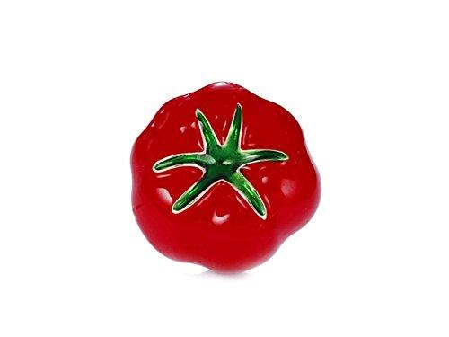 LanDream Broche Nupcial de la Boda del Pin de Fruta del Ramillete del Tomate Accesorios de Ropa Clip para Damas Regalos de...