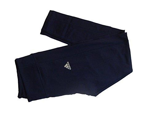 adidas Womens CB Cold Climawarm Running Tights Pants, Ink, Medium