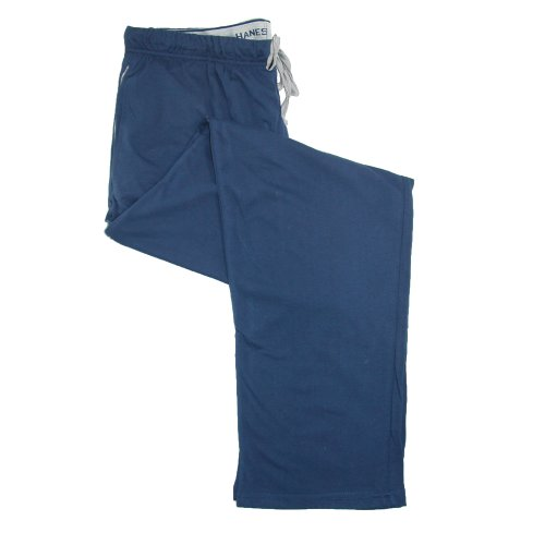 Hanes Mens Big & Tall Cotton Drawstring Pajama Sleep Pants