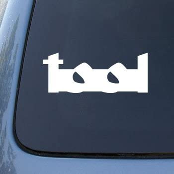 TOOL - Vinyl Decal Sticker #A1438 | Vinyl Color: White