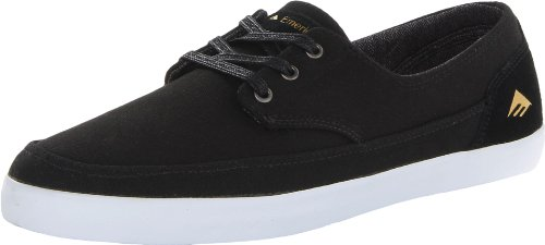 Emerica Mens The Romero Troubadour Low Skate Shoe Black/White 7n5bNQ9zCl